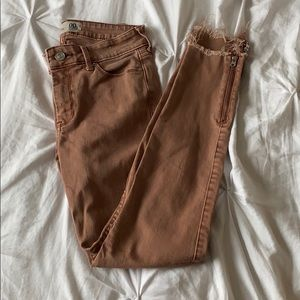 Abercrombie and Fitch skinny ankle jeans